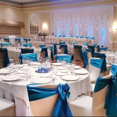 Chair Cover Rental Orland Park Navy Blue Dining Room Chairs Rent Ruched Covers Lighting Affordable Rosemont O Hare Backdrop Il Ohare Banquet