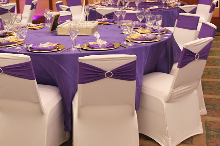 banquet chair covers rent slipcovers for armless chairs where to in oak brook il – chicago west suburbs | event decor by satin
