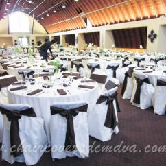 Chair Cover Rentals Dc Pier One Covers Wedding In Md And Va Gallery