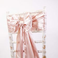 Rose Gold Satin Chair Sashes Ikea Chairs Living Room Sash Covers Of Yorkshire Red