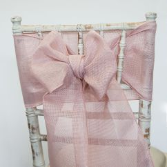 Chair Sash Alternatives Inflatable Lifting Linen Blush Pink Covers Of Yorkshire Grey