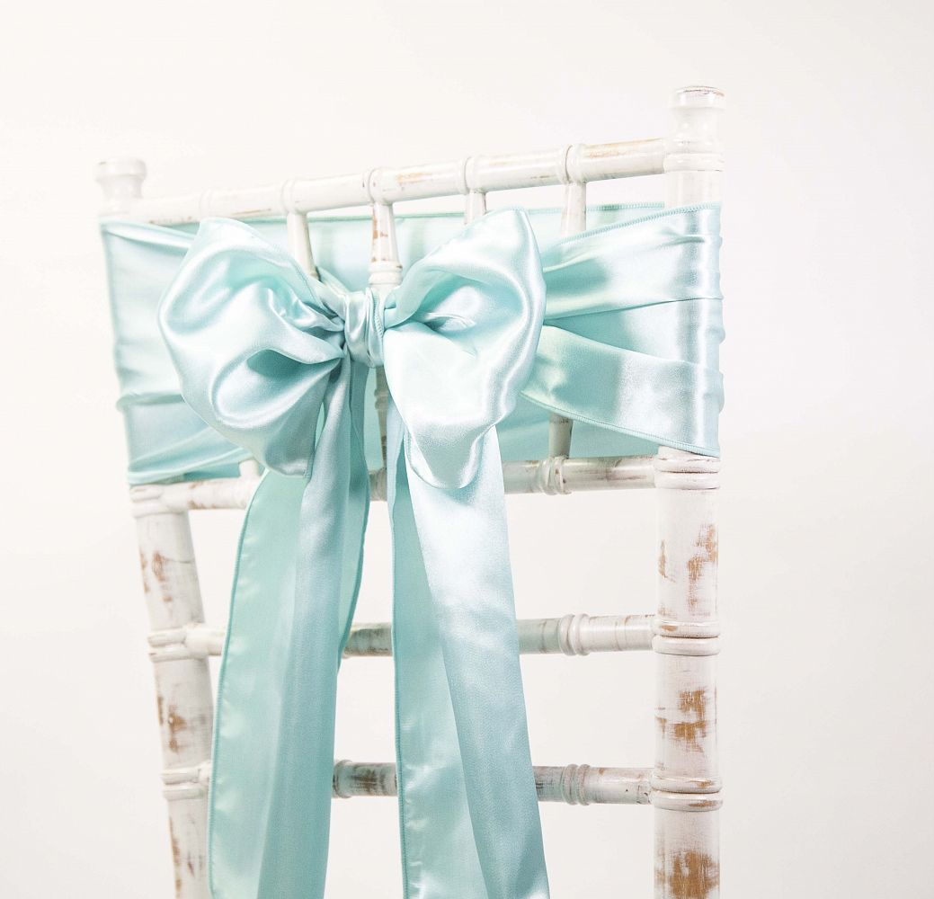 Tiffany Blue Chair Satin Sash Tiffany Blue Chair Covers Of Yorkshire