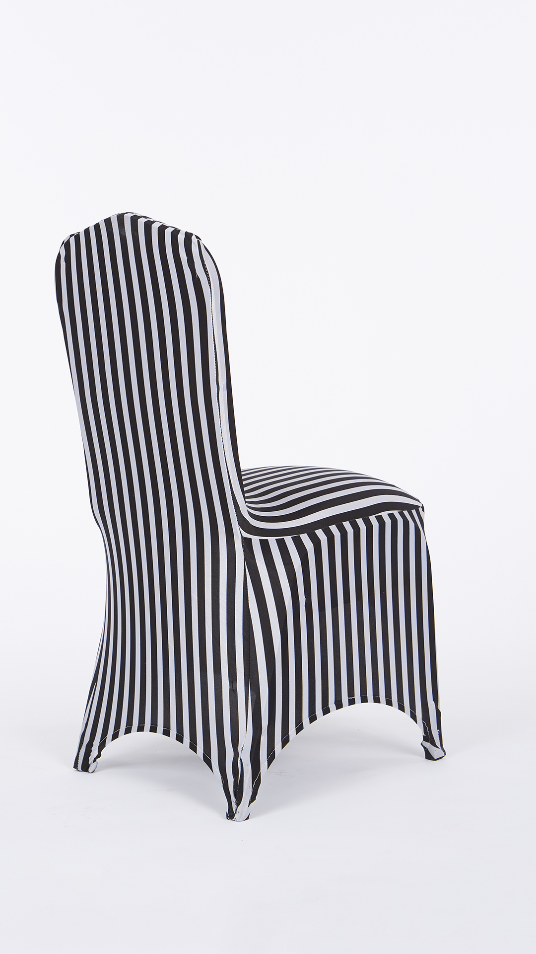 Black White Chair Black And White Stripe Stretch Chair Cover Chair Decor