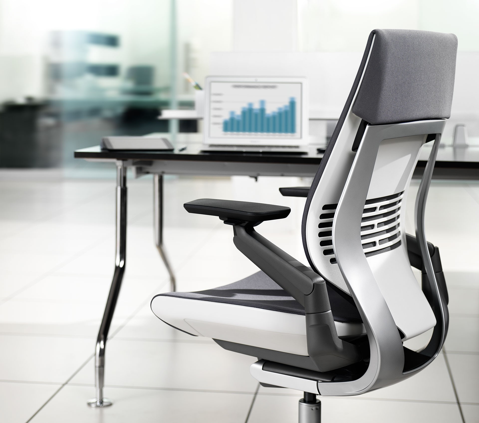 steelcase gesture chair purple bungee office
