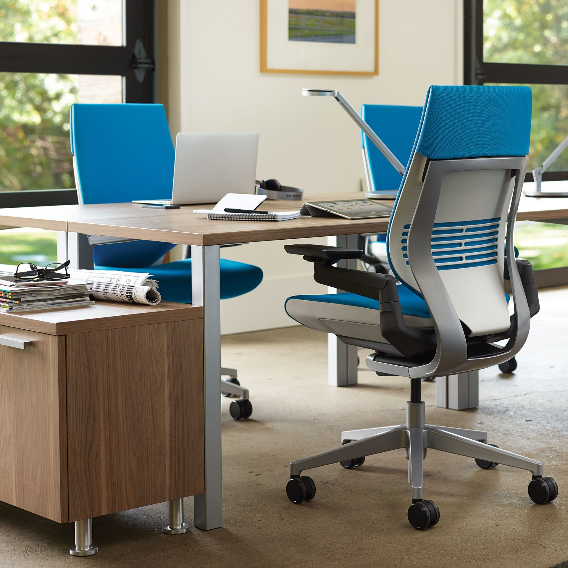 back posture chair support rocking for porch steelcase gesture™ office