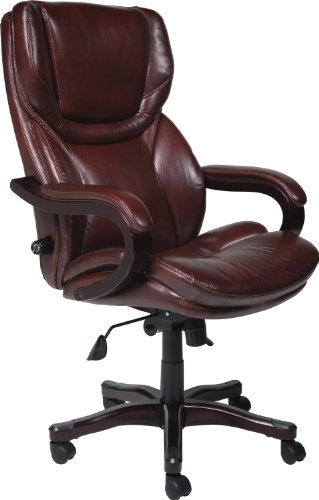 best big and tall office chairs 2018 computer chair mats top 10 brown everything is great about this serta bonded leather executive it represents a investment in furniture with the comfort