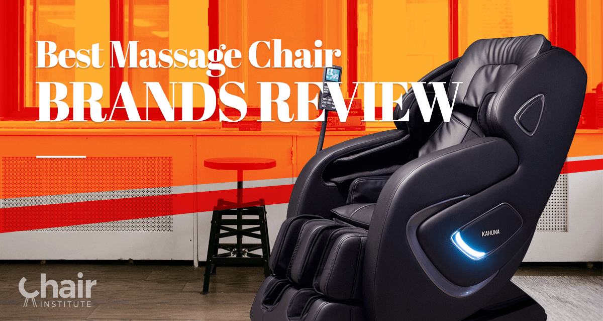 The Best Massage Chair Brands Of 2019