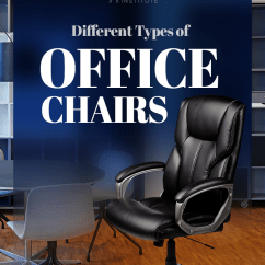 Ergonomic Chair Types Hanging With Footrest 10 Different Of Office Chairs For Work Pictures Looking The Right Know Basics And Learn Variety