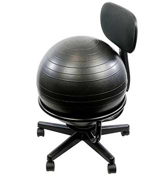 office chair without arms library lounge chairs cando ball review buyer s guide 2019 metal