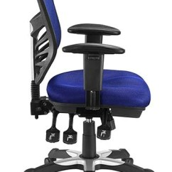 Ergonomic Chair Pros White Nailhead Dining Modway Articulate Mesh Office Review February 2019 A Side Shot Of In Blue Color