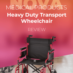 Transport Wheelchair Nova Ergonomic Chair Without Back Medical Products Review February 2019 Check Out Our In Depth Of The Rugged