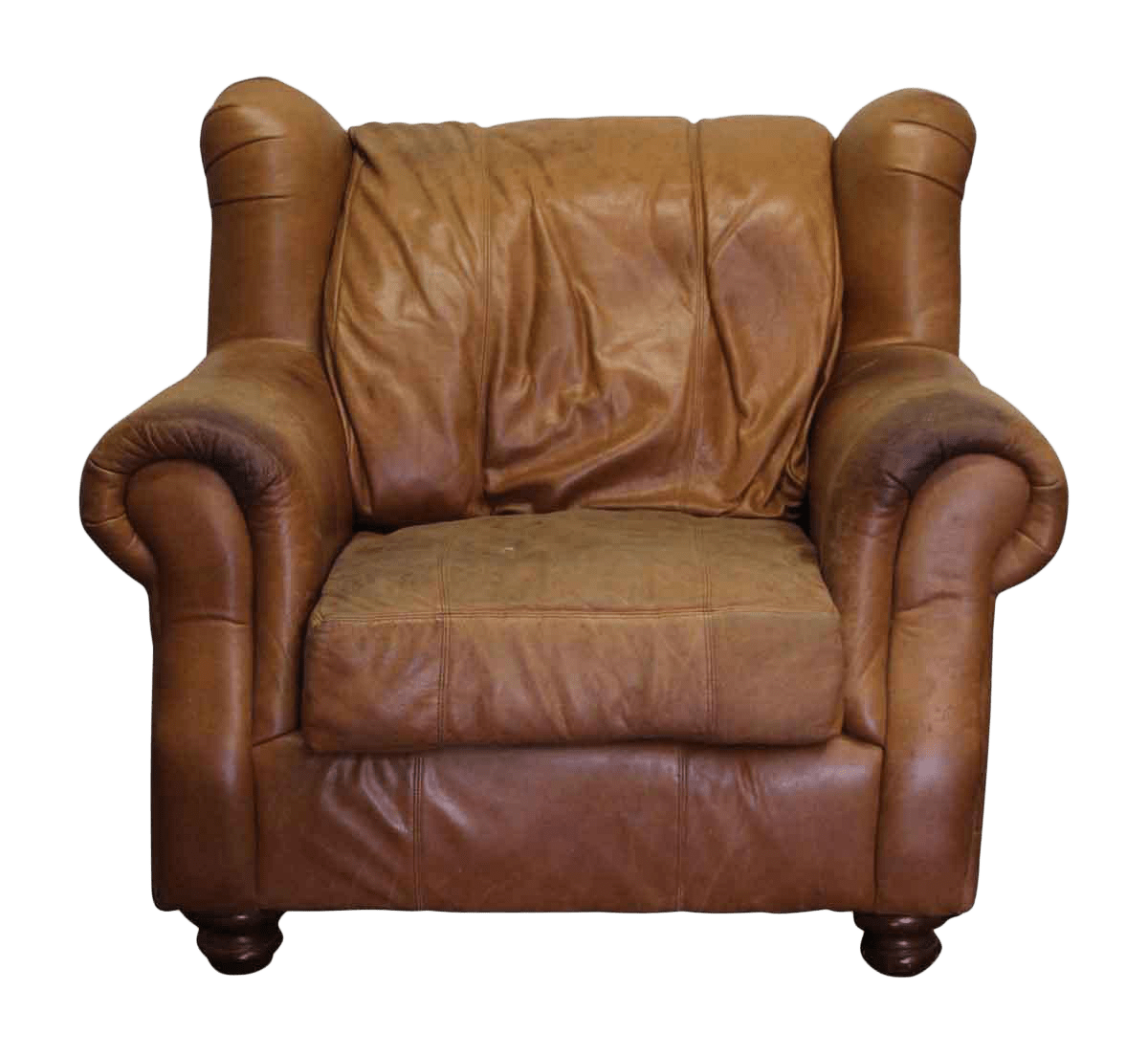 Brown Leather Wingback Chair Traditional Leather Wingback Chair