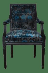 Neoclassical French Louis XVI Style Arm Chair   Chairish