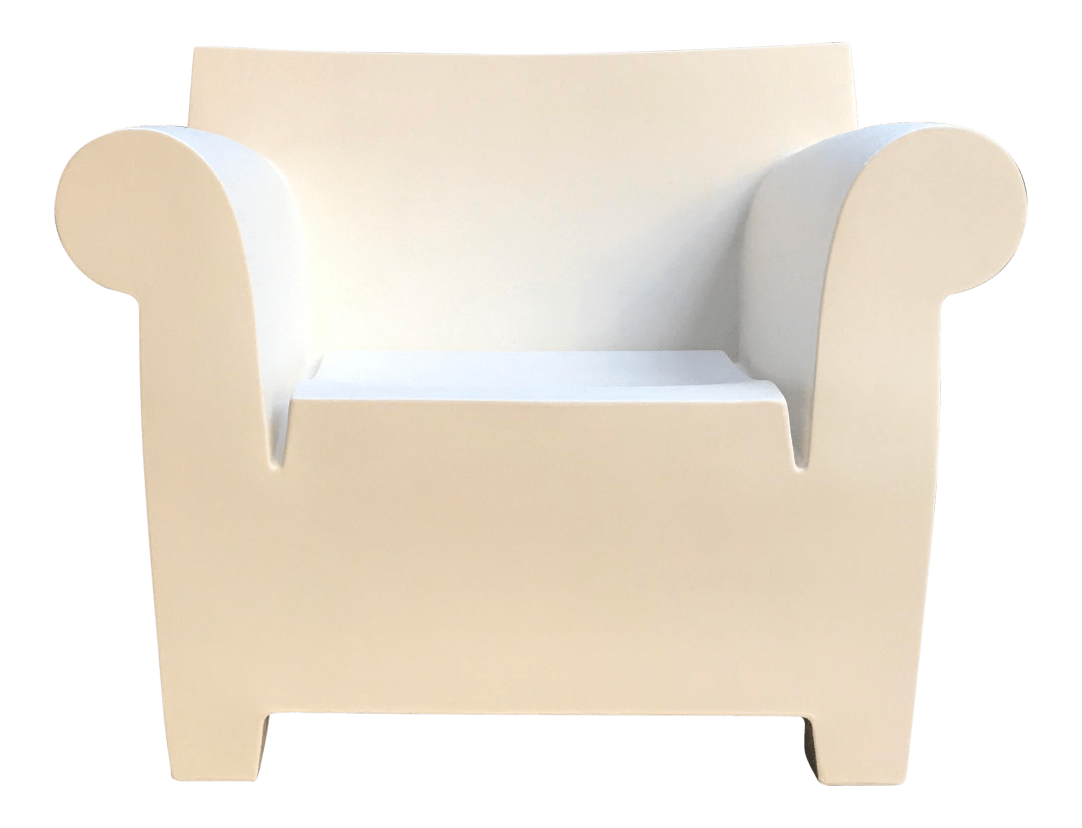 bubble club chair replica and steel philippe starck for kartell chairish