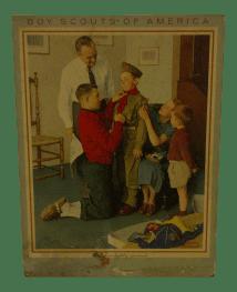 Norman Rockwell Prints Boy Scouts