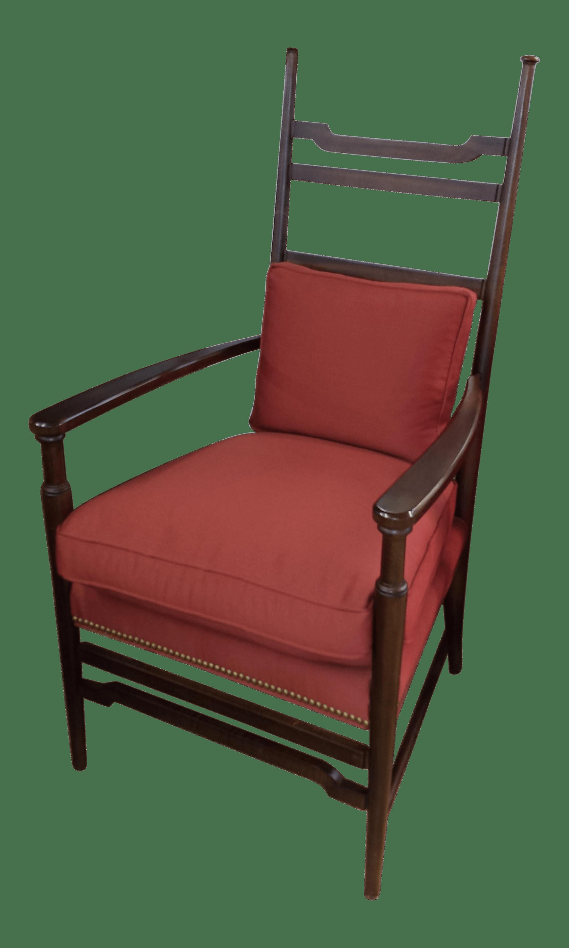 shaker ladder back chair swivel tub chairs hickory modern ladderback chairish