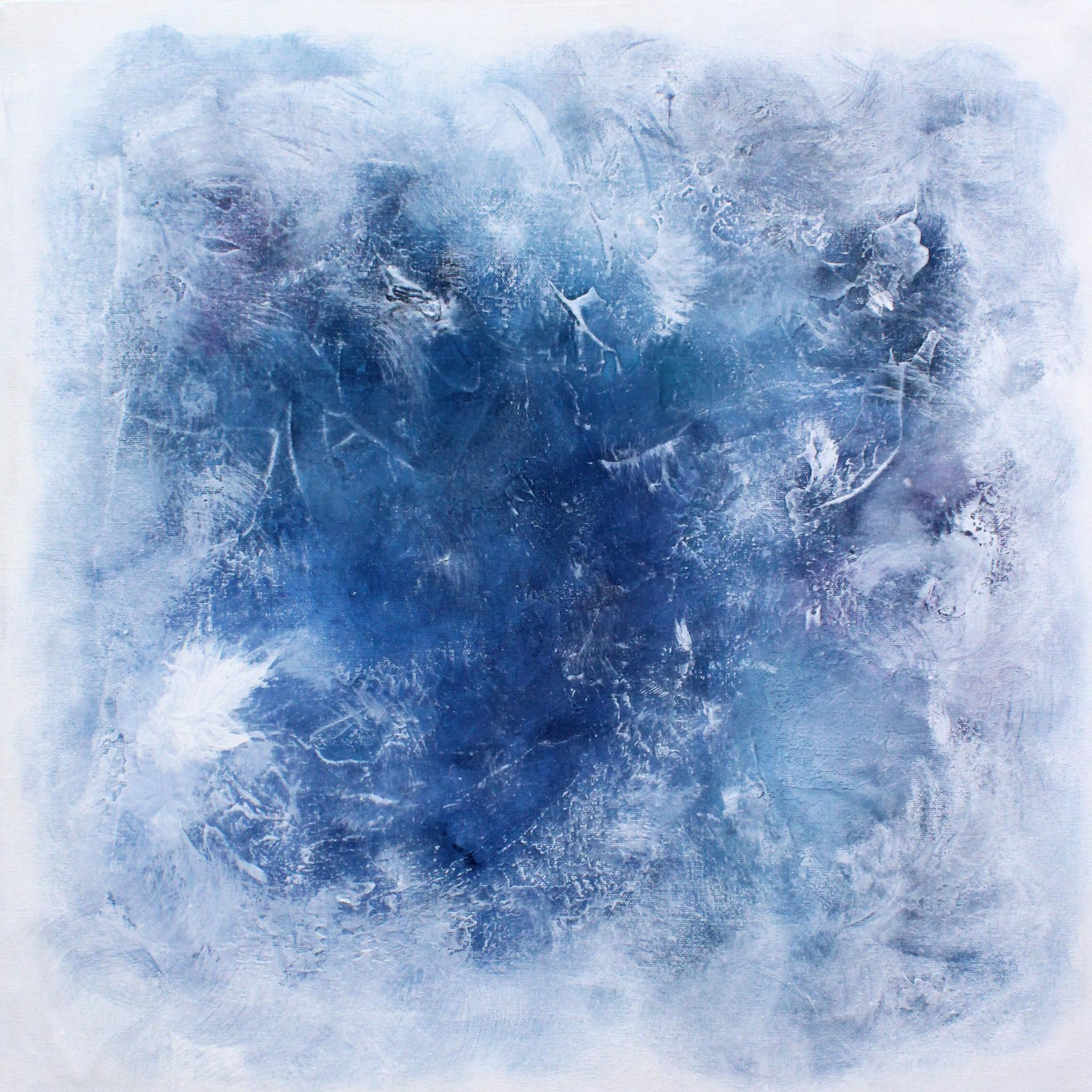 mystic blue lavender white