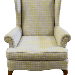 Rustic Accent Chairs Graco Slim Spaces High Chair Chic Cottage Style Wingback Chairish