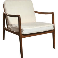 Teak Lounge Chair Black Table And Chairs Fine Ole Wanscher Mid Century Decaso