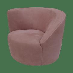 Swivel Arm Chairs Reclaimed Wood Rocking Chair Vladimir Kagan Nautilus Chairish