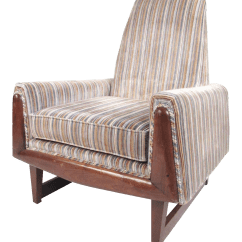 Adrian Pearsall Chair Reclining Rocking With Ottoman Mid Century Style Lounge Chairish