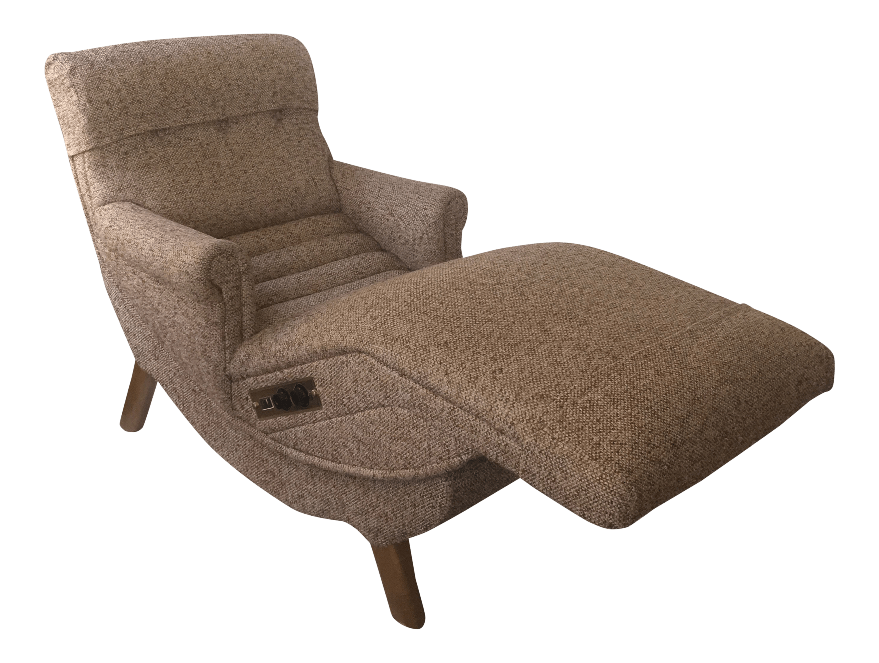 Contour Chair Lounge Vintage Reclining Lounge Chair