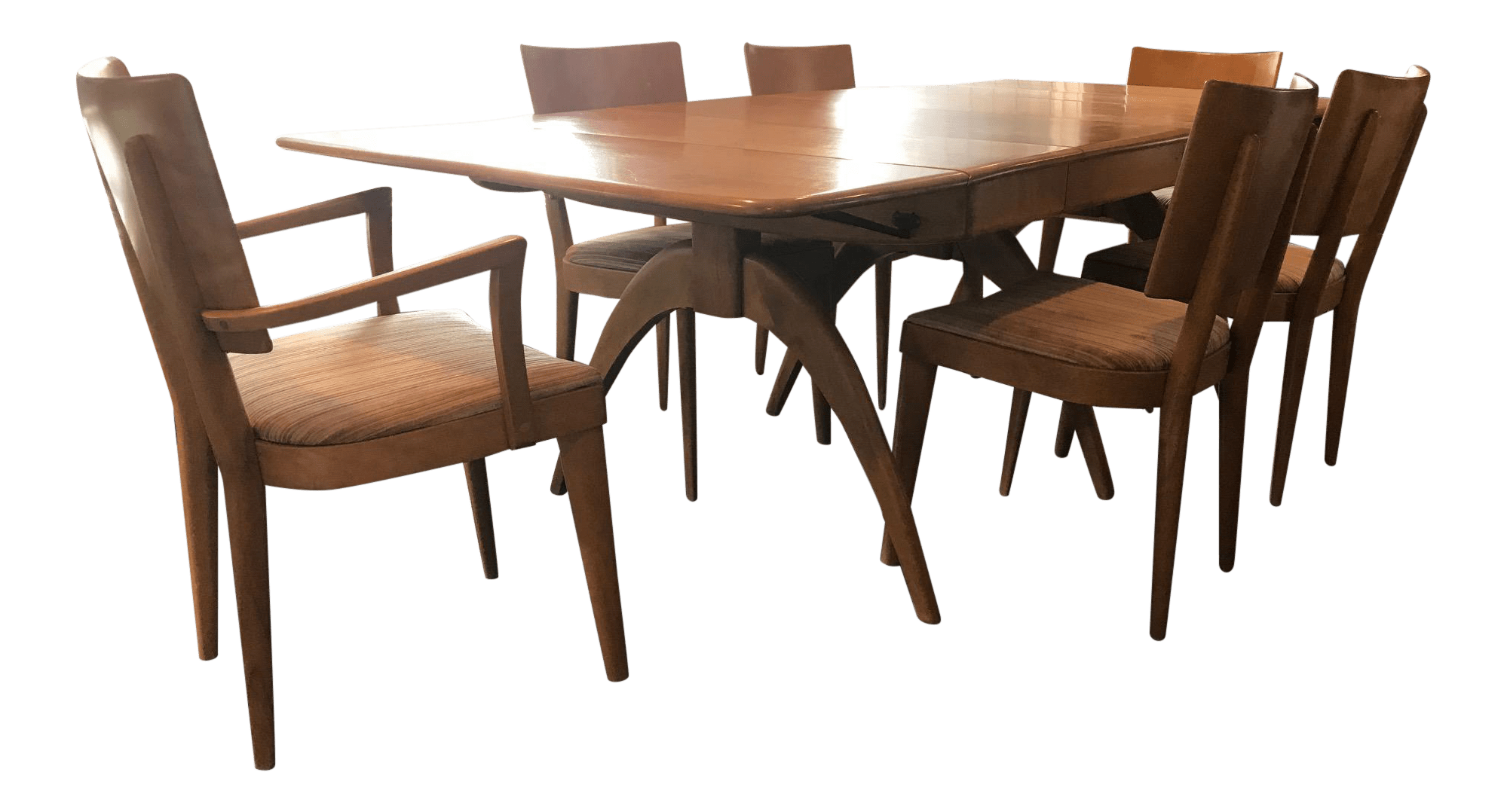 Heywood Wakefield Dining Chairs Heywood Wakefield Dining Table Chairs