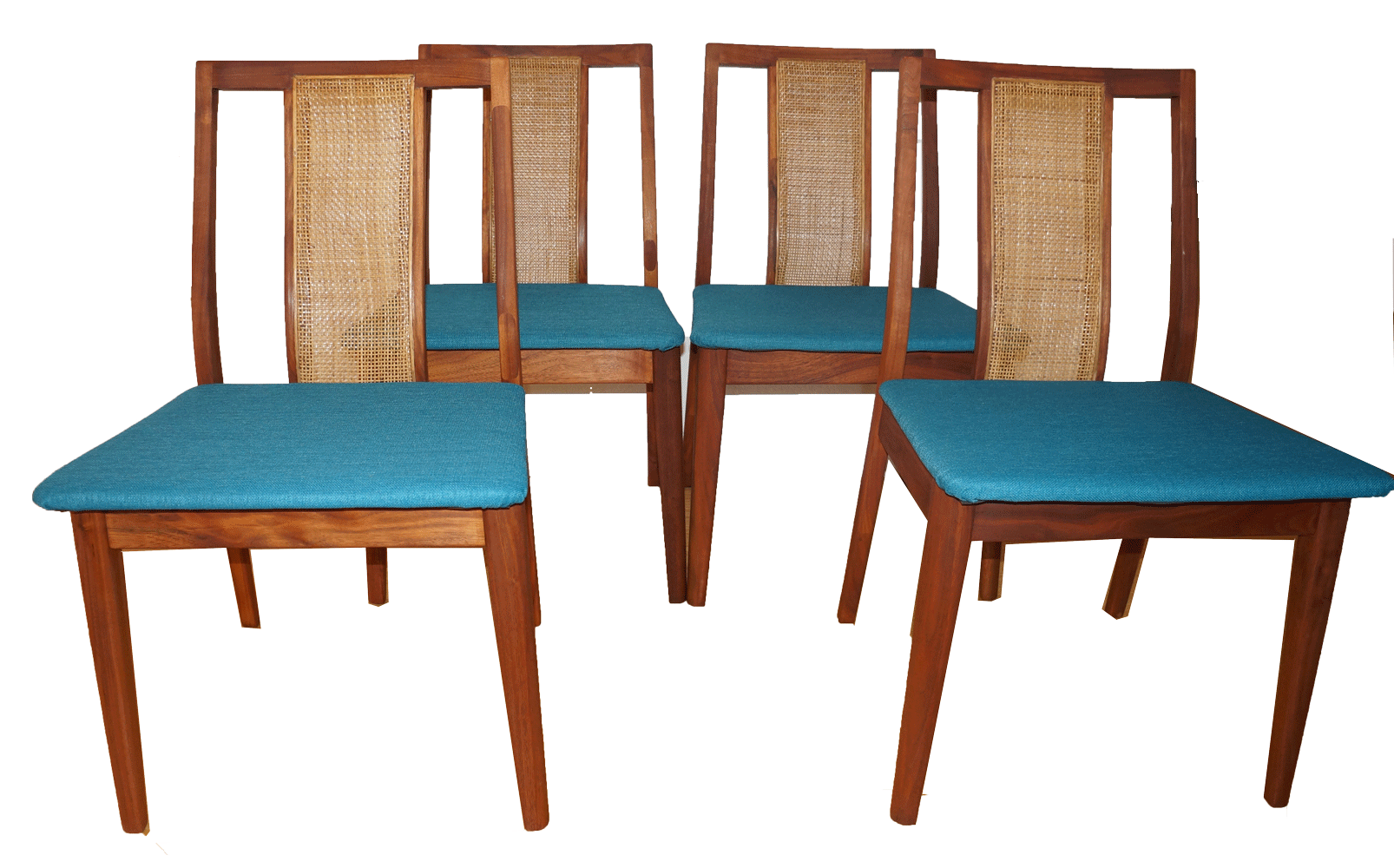 retro dining chairs ireland front porch rocking chair vintage mid century set of 4 chairish