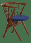 Helge Sibast No 8 Danish Mid Century Modern Spindle Back Arm Chair Circa 1960s Chairish