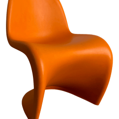 Vernon Panton Chair Cow Print Covers Junior By Verner From Vitra Chairish