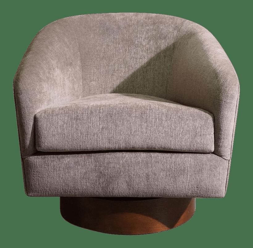 swivel tub chairs deer blind academy sophisticated milo baughman chair decaso 1467
