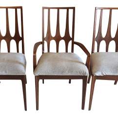Mid Century Dining Chairs Best Office Chair For Short Person Broyhill Brasilia Set Of 3 Chairish