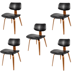 Vintage Bentwood Chairs Tommy Bahama Backpack Beach Chair 1950s Thonet Set Of 5 Chairish