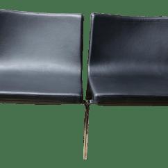 Blu Dot Chairs Revolving Chair Under 3000 Stella Lounge A Pair Chairish