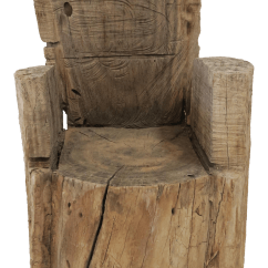 Tree Stump Chairs Dining Table And Argos Childs Wood Chair Chairish