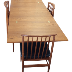 Flip Flop Chair Heywood Wakefield Cane Swedish Skaraborgs Dining Table And Dux Chairs