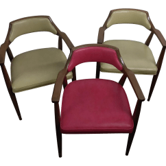 Jasper Chair Company Desk Keeps Rising Accent Chairs Set Of 3 Chairish