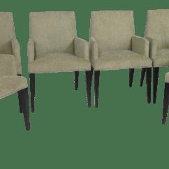 Modern Green Dining Chairs Herman Miller Aeron Chair Hong Kong Mid Century Set Of 6 Chairish