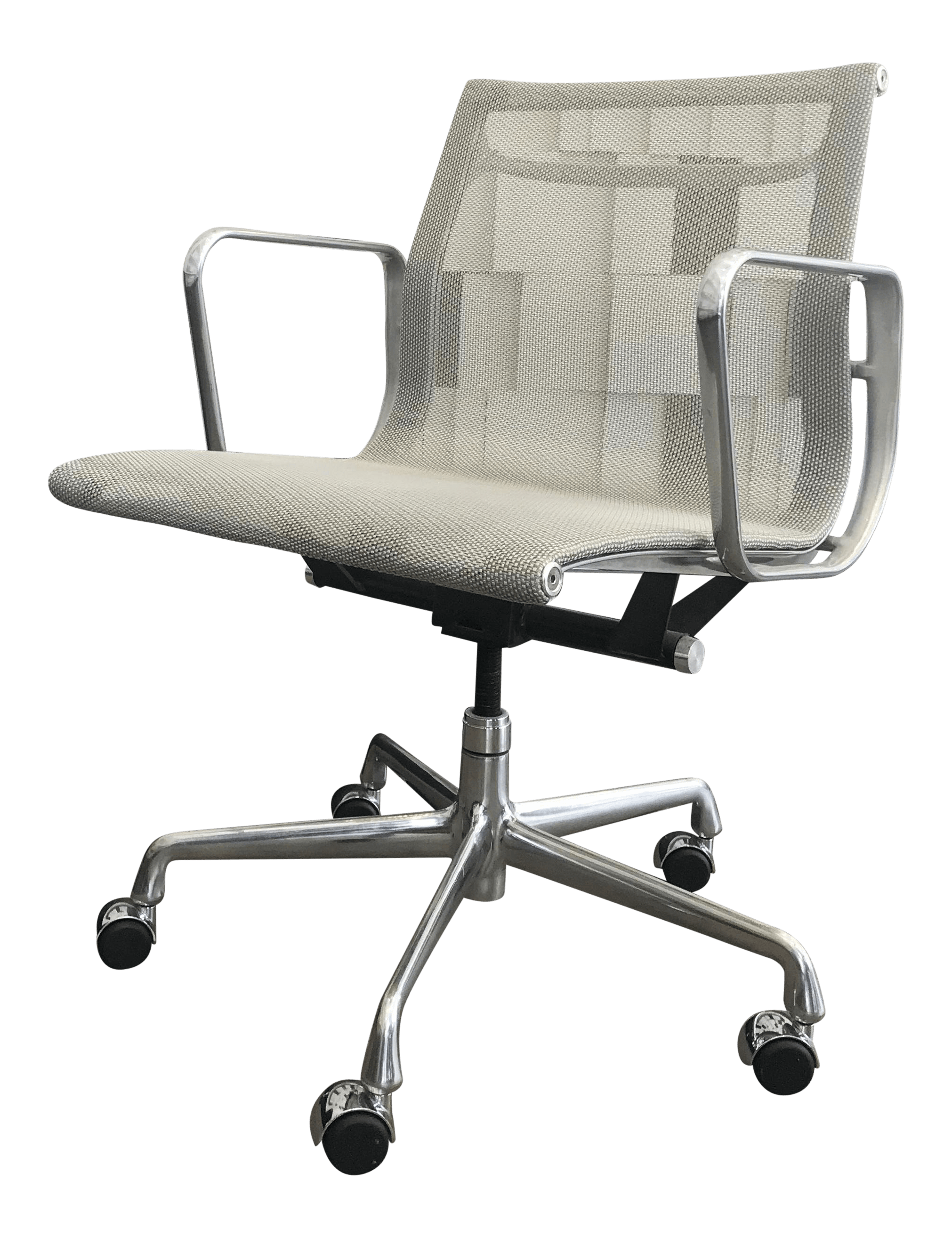 eames aluminum chair ultimate office group management chairish