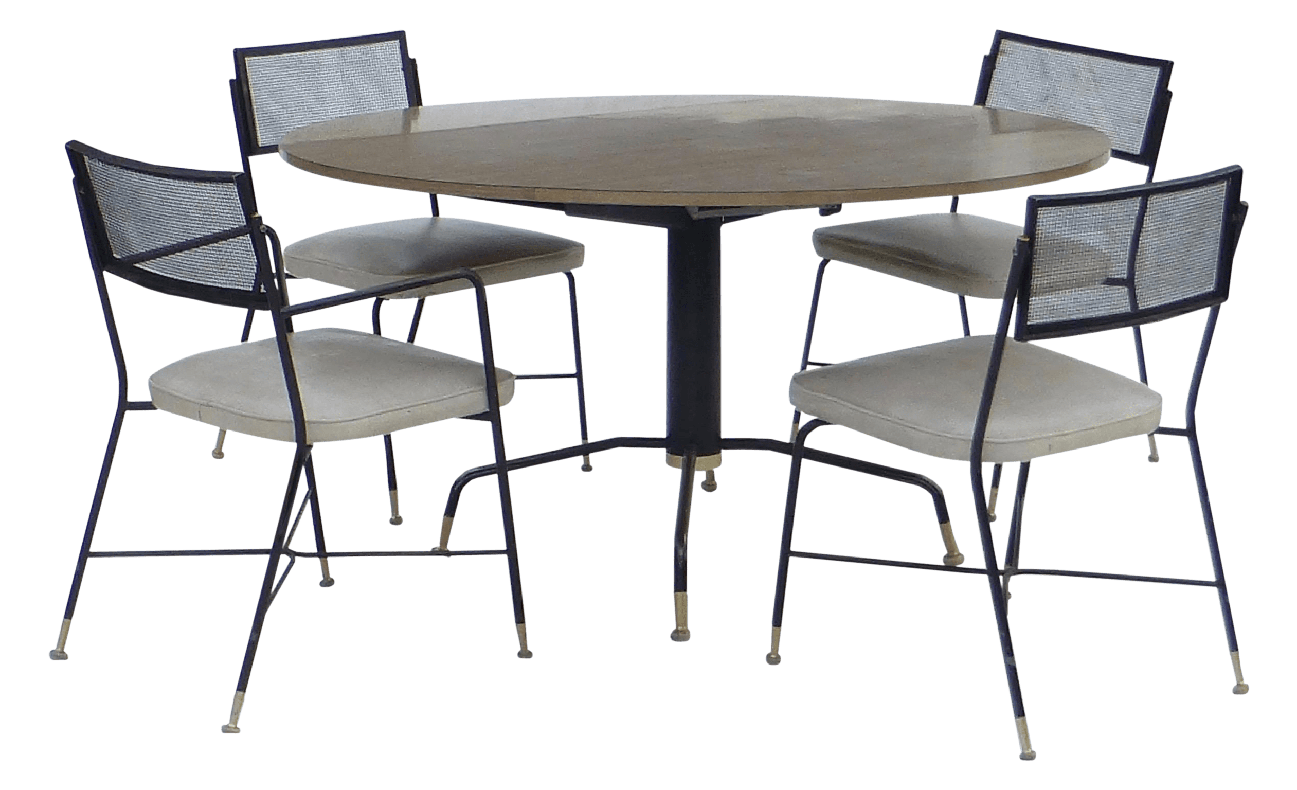 round kitchen table and chairs ireland animal print accent chair 5 piece troy sunshade company dining set chairish
