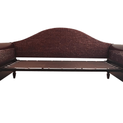 Rattan Love Sofa Daybed Value City Furniture Beds Wood & Sleigh | Chairish