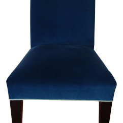 Royal Blue Chairs Cushions For Office Desk Mitchell Gold Velvet Chair Chairish