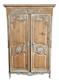 Ethan Allen French Country Armoire   Chairish