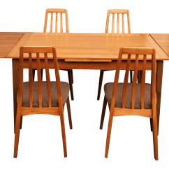 Table And 6 Chairs Chairman Stool Benny Linden Design Mid Century Dining Chairish