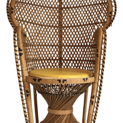 Vintage Peacock Chair Best Outdoor Rocking Chairs 2017 Child Size Chairish