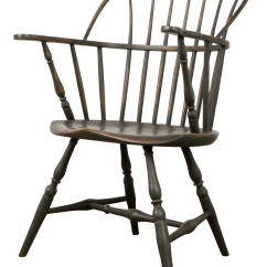 Antique Windsor Chairs Folding Directors Wooden 18th Century Chair With Extended Arms Chairish