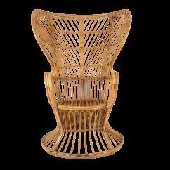 Rattan Peacock Chair Revolving Images 1950s Mid Century Modern Franco Albini Style Bamboo Chairish