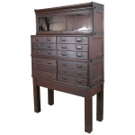 Globe Wernicke Stacking Barrister Bookcase Cabinet