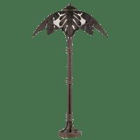 Bronze Palm Tree Floor Lamp | Chairish