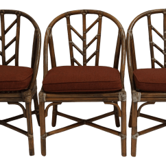 Bamboo Chairs Chair Cover Hire Grays Vintage Mcguire Set Of 4 Chairish